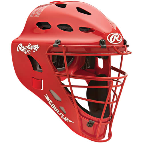 RAWLINGS CFA1JP-S Adult CoolFlo Catchers Helmet
